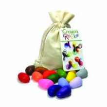 16 Crayon Rocks in Muslin Bag