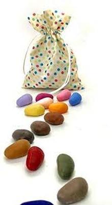 32 Rocks in a Polka Dot Bag