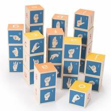 Uncle Goose American Sign Language Blocks