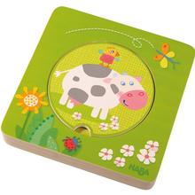 HABA On the Farm Wooden Layer Puzzle