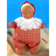 Red Waldorf Doll