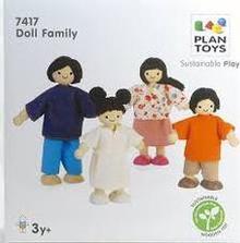 Asian Doll Family