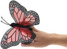 Folkmanis Mini Monarch Butterfly