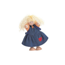 Wooden Girl Doll