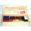 Stockmar Beeswax Crayons in Wooden Box (16 Blocks)