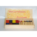 Stockmar Beeswax Crayons in Wooden Box (8 Sticks-8 Blocks)