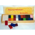 Stockmar Beeswax Crayons in Wooden Box (24 blocks)