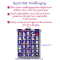 Royal Blue ABC Wallhanging